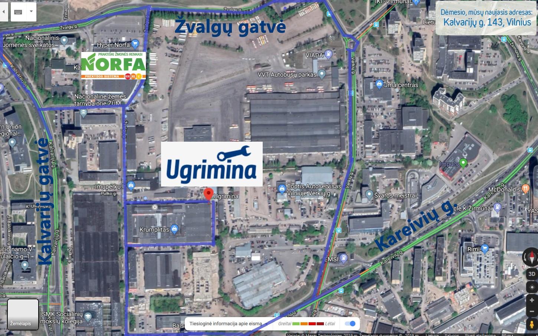 Autoservisas Vilniuje Ugrimina Kaip rasti